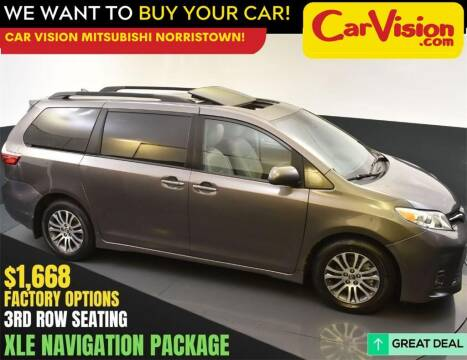 2018 Toyota Sienna for sale at Car Vision Mitsubishi Norristown in Norristown PA