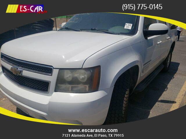 2010 Chevrolet Suburban for sale at Escar Auto in El Paso TX