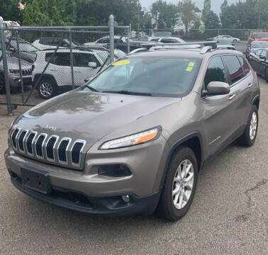 2016 Jeep Cherokee for sale at Caulfields Family Auto Sales in Bath PA
