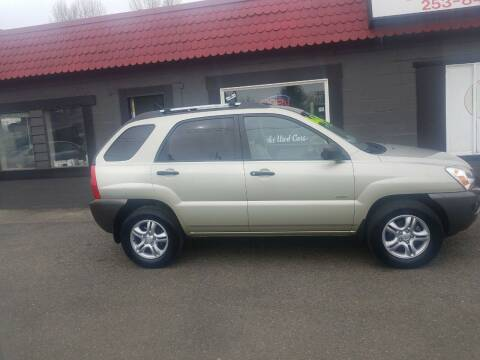 2007 Kia Sportage for sale at Bonney Lake Used Cars in Puyallup WA