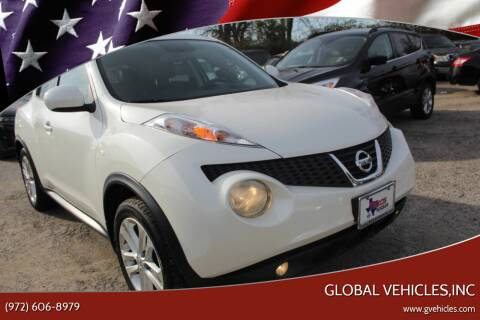 2013 Nissan JUKE for sale at Global Vehicles,Inc in Irving TX