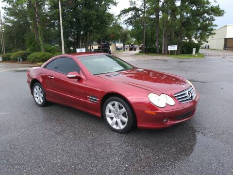 2003 Mercedes-Benz SL-Class for sale at Global Auto Exchange in Longwood FL