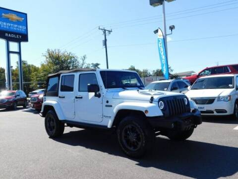 2018 Jeep Wrangler JK Unlimited for sale at Radley Cadillac in Fredericksburg VA