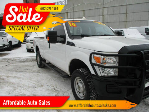 2014 Ford F-250 Super Duty for sale at Affordable Auto Sales in Olathe KS