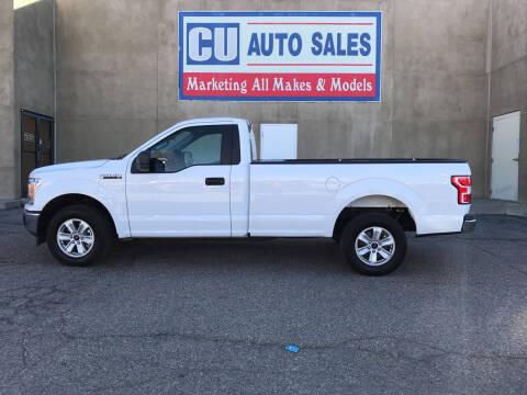 2019 Ford F-150 for sale at C U Auto Sales in Albuquerque NM