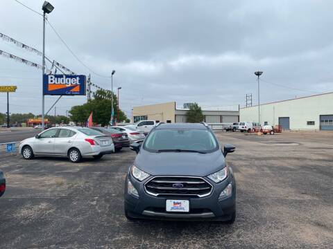 2018 Ford EcoSport for sale at BUDGET CAR SALES in Amarillo TX