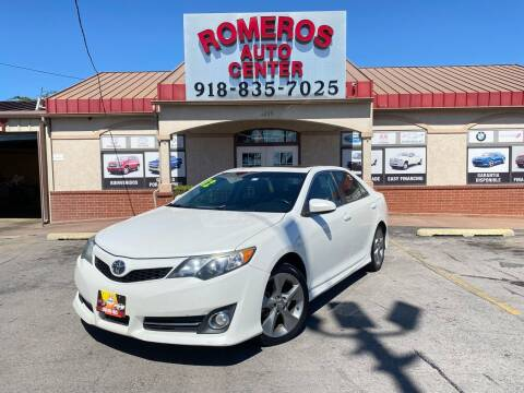2012 Toyota Camry for sale at Romeros Auto Center in Tulsa OK