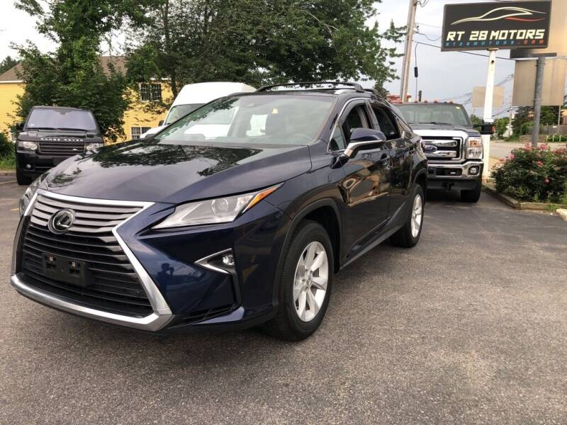 2017 Lexus RX 350 for sale at RT28 Motors in North Reading MA