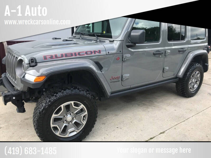 2019 Jeep Wrangler Unlimited for sale at A-1 Auto in Crestline OH