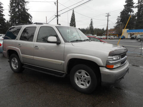 2005 Chevrolet Tahoe for sale at Lino's Autos Inc in Vancouver WA
