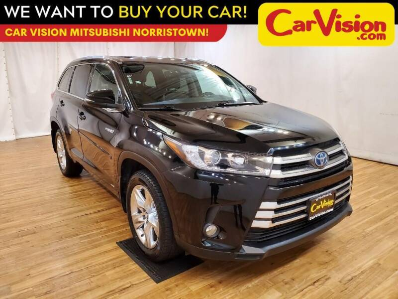 2017 Toyota Highlander Hybrid for sale at Car Vision Mitsubishi Norristown in Trooper PA