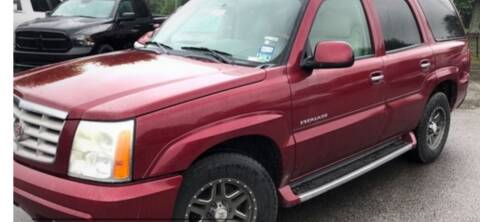 2004 Cadillac Escalade for sale at VICTORY LANE AUTO in Raymore MO
