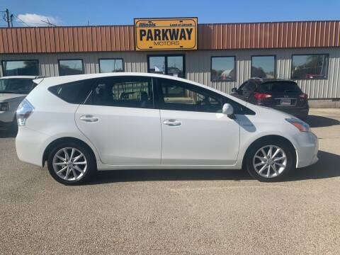 2012 Toyota Prius v for sale at Parkway Motors in Springfield IL
