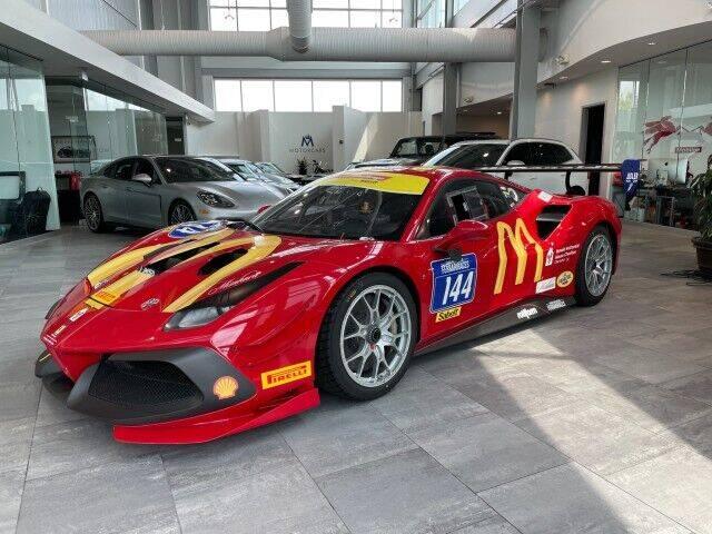 2016 Ferrari 488 Challenge Evo for sale at Motorcars Washington in Chantilly VA