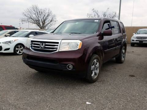 2014 Honda Pilot for sale at Buy Here Pay Here Lawton.com in Lawton OK