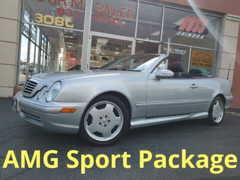2003 Mercedes-Benz CLK for sale at FOUR M SALES in Buffalo NY