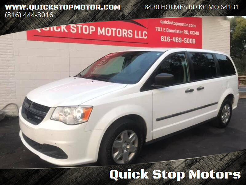 2014 RAM C/V for sale at Quick Stop Motors in Kansas City MO
