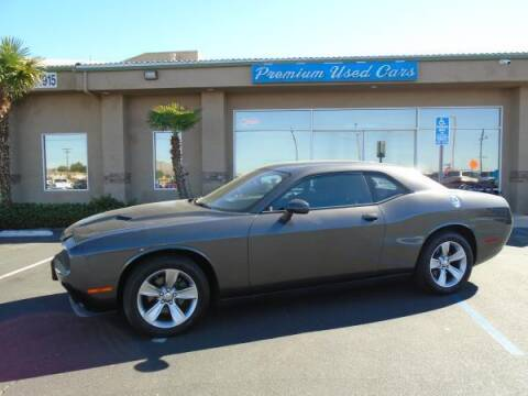 2015 Dodge Challenger for sale at Family Auto Sales in Victorville CA
