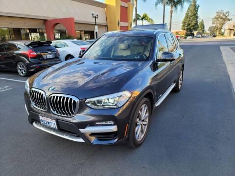 2018 BMW X3 for sale at Auto Facil Club in Orange CA