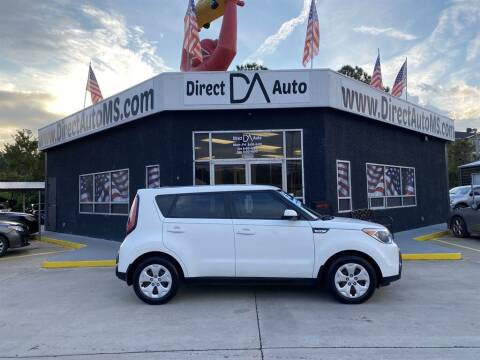 2015 Kia Soul for sale at Direct Auto in D'Iberville MS