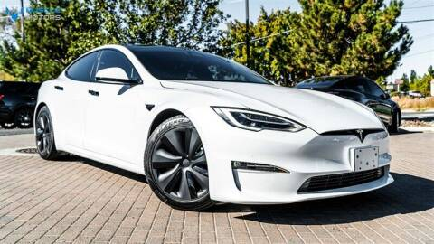 2021 Tesla Model S for sale at MUSCLE MOTORS AUTO SALES INC in Reno NV