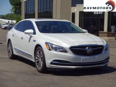 2017 Buick LaCrosse for sale at RAVMOTORS 2 in Crystal MN