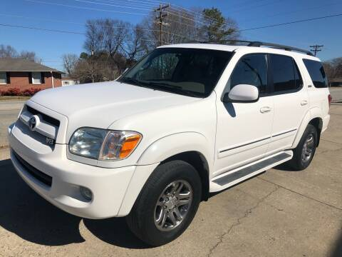2007 Toyota Sequoia for sale at E Motors LLC in Anderson SC