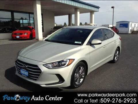 2017 Hyundai Elantra for sale at PARKWAY AUTO CENTER AND RV in Deer Park WA