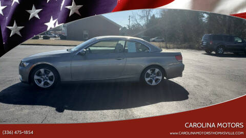 2007 BMW 3 Series for sale at CAROLINA MOTORS in Thomasville NC
