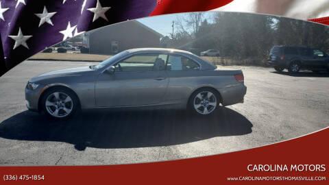 2007 BMW 3 Series for sale at CAROLINA MOTORS in Thomasville NC
