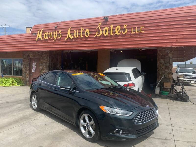 2014 Ford Fusion for sale at Marys Auto Sales in Phoenix AZ