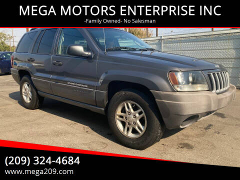 2004 Jeep Grand Cherokee for sale at MEGA MOTORS ENTERPRISE INC in Modesto CA