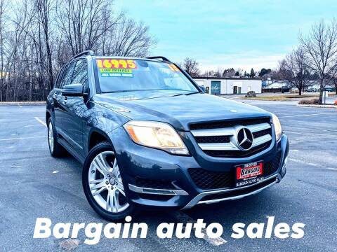 2013 Mercedes-Benz GLK for sale at Bargain Auto Sales in Garden City ID