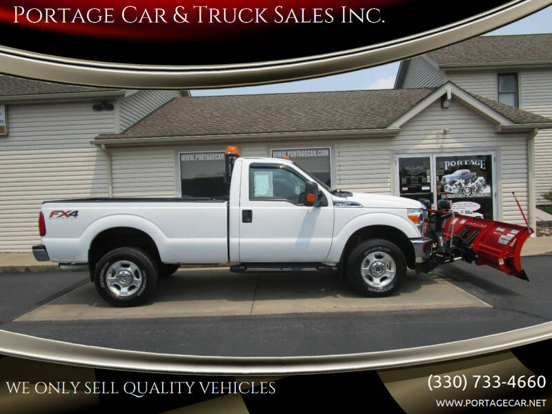 2016 Ford F-350 Super Duty for sale at Portage Car & Truck Sales Inc. in Akron OH