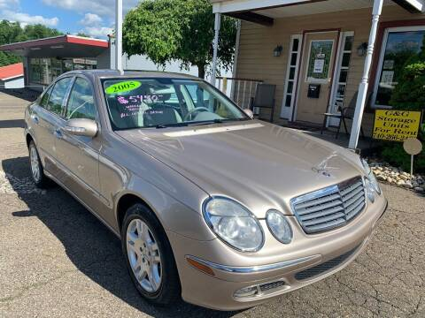 2005 Mercedes-Benz E-Class for sale at G & G Auto Sales in Steubenville OH