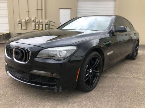 2012 BMW 7 Series for sale at The Auto & Marine Gallery of Houston in Houston TX