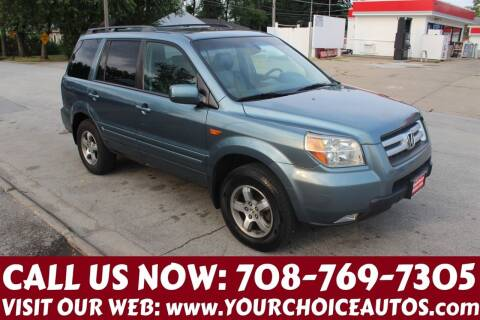 2006 Honda Pilot for sale at Your Choice Autos in Posen IL