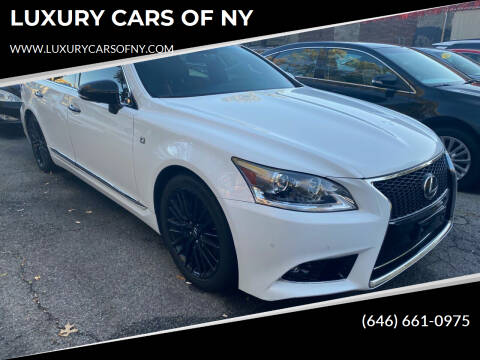 2015 Lexus LS 460 for sale at LUXURY CARS OF NY in Queens NY