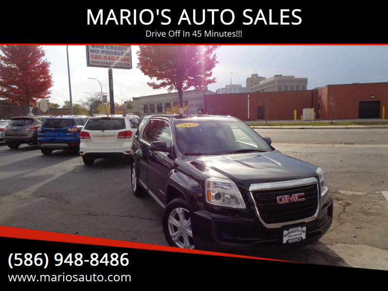 2017 GMC Terrain for sale at MARIO'S AUTO SALES in Mount Clemens MI