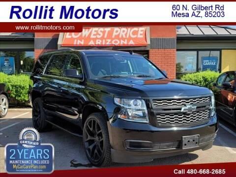 2015 Chevrolet Tahoe for sale at Rollit Motors in Mesa AZ