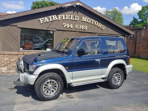 1994 Mitsubishi Pajero for sale at Fairfield Motors in Fort Wayne IN