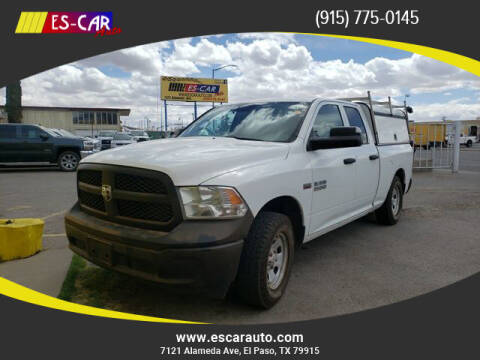 2013 RAM Ram Pickup 1500 for sale at Escar Auto in El Paso TX