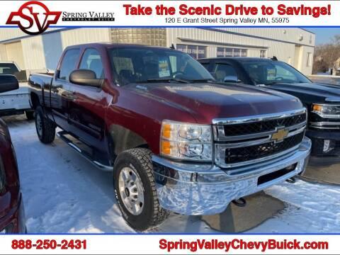2013 Chevrolet Silverado 2500HD for sale at Spring Valley Chevrolet Buick in Spring Valley MN