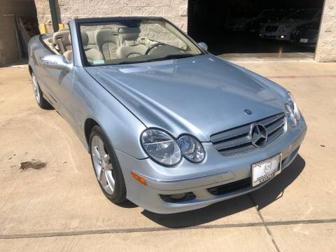 2008 Mercedes-Benz CLK for sale at KAYALAR MOTORS - ECUFAST HOUSTON in Houston TX
