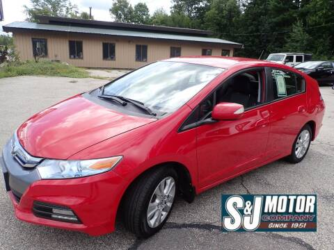 2013 Honda Insight for sale at S & J Motor Co Inc. in Merrimack NH