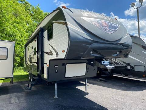 2016 Forest River Puma for sale at SETTLE'S CARS & TRUCKS in Flint Hill VA