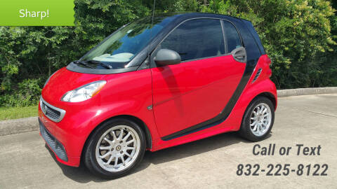 2013 Smart fortwo for sale at Houston Auto Preowned in Houston TX