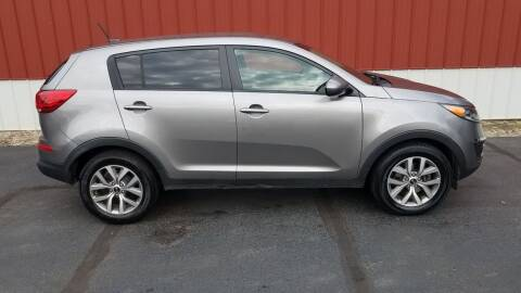2016 Kia Sportage for sale at North East Locaters Auto Sales in Indiana PA