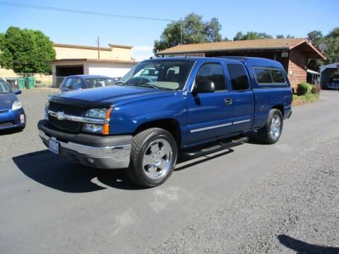 2004 Chevrolet Silverado 1500 for sale at Manzanita Car Sales in Gridley CA