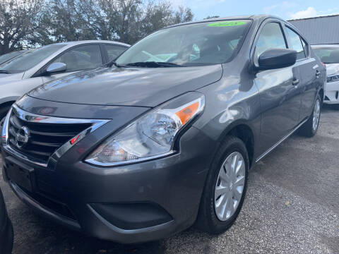 2018 Nissan Versa for sale at Bargain Auto Sales in West Palm Beach FL